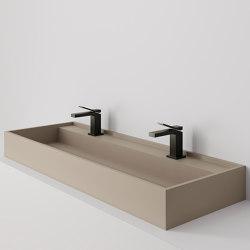 Hydra 117x43 Silk Camel Natural | Wash basins | INALCO