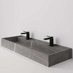 Hydra 117x43 Senda Gris Natural | Wash basins | INALCO