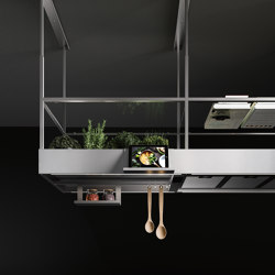 Circle.Tech | Spazio Steel | Kitchen hoods | Falmec