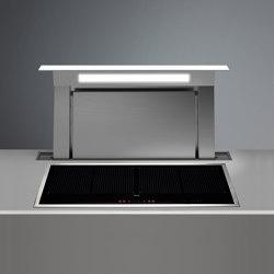 Design   Down Draft 90cm White Exhausting   Kitchen hoods   Falmec