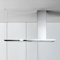 Design | Lumen Island 175cm Right | Kitchen hoods | Falmec