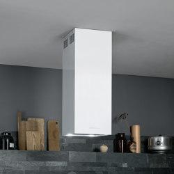 Design | Mira Island White | Kitchen hoods | Falmec