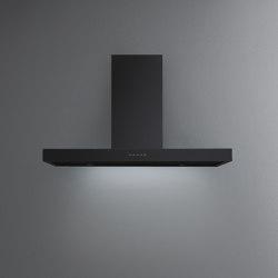 Design | Plane Black Wall | Kitchen hoods | Falmec