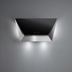 Design | Prisma Wall 85cm Black | Campanas extractoras | Falmec