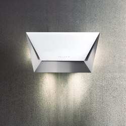 Design | Prisma Wall 115cm White | Kitchen hoods | Falmec
