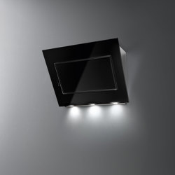 Design | Quasar 90cm Black | Kitchen hoods | Falmec