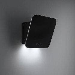 Design | Tab 80cm Black | Kitchen hoods | Falmec