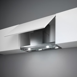 Design | Virgola 120cm Steel | Kitchen hoods | Falmec