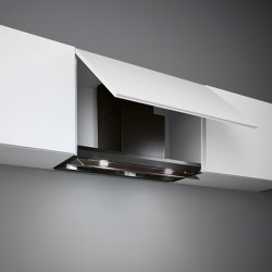 Design | Virgola 60cm Black | Kitchen hoods | Falmec