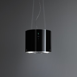 E.ion® System | Eolo E.ion® Island Black | Kitchen hoods | Falmec