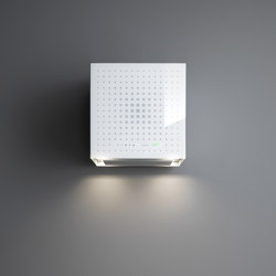 E.ion® System | Rubik E.ion® Wall White | Kitchen hoods | Falmec