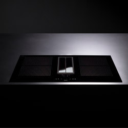 Integrated cooking systems | Quantum | Hobs | Falmec