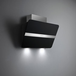 Silence - NRS® | Flipper NRS® Satin Black | Kitchen hoods | Falmec