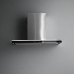 Silence - NRS® | Lumina NRS® Wandhaube 90 Schwarz | Küchenabzugshauben | Falmec