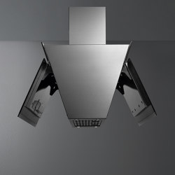 Design | Butterfly Island Black | Kitchen hoods | Falmec