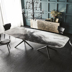 Atlantis CrystalArt | Tables de repas | Cattelan Italia