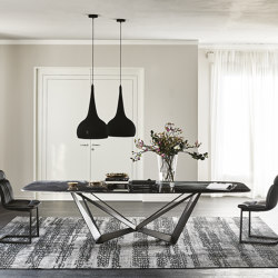 Skorpio Crystalart | Dining tables | Cattelan Italia