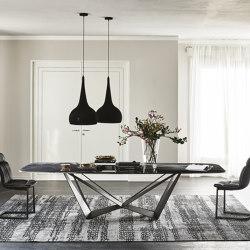 Skorpio Crystalart | Tables de repas | Cattelan Italia