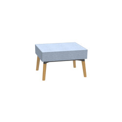 Reefs solitary 1-seater stool | Pufs | Dauphin