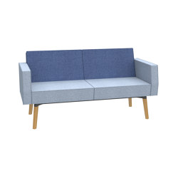 Reefs solitary 2-seater sofa | Sofás | Dauphin