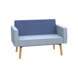 Reefs solitary Belize 1,5-seater sofa | Sofás | Dauphin