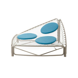 Atollo 4365 + 60CU Day bed | Sonnenliegen / Liegestühle | ROBERTI outdoor pleasure