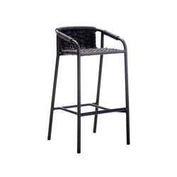 Capri bar stool | Taburetes de bar | ROBERTI outdoor pleasure