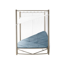 Atollo 4361 + 60MC Day bed con baldacchino | Sonnenliegen / Liegestühle | ROBERTI outdoor pleasure