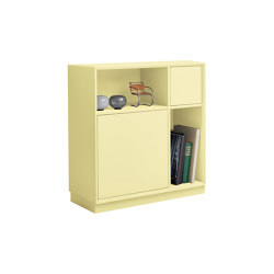 Vertiko cabinet furniture module lacquered in 20 colours | Cabinets | Müller small living