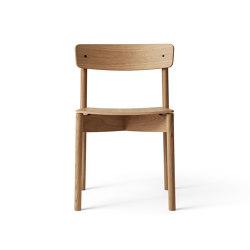 T01 | Cross Chair Oak Matt lacquer | Chairs | TAKT