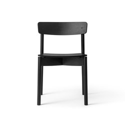 T01   Cross Chair Oak Black lacquer   Chairs   TAKT