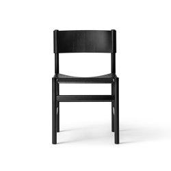 T02 | Soft Chair Ash Black lacquer | Stühle | TAKT