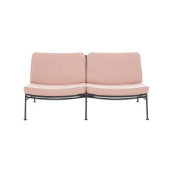 Backpack 2 | Settee Outdoor Charbon Lacquered Base | Sofas | Ligne Roset