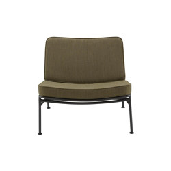 Backpack 2 | Fireside Chair Outdoor Charbon Lacquered Base | Armchairs | Ligne Roset