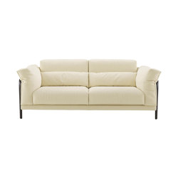 Cityloft | Medium Settee Without Arm Cushions Complete Item | Sofas | Ligne Roset