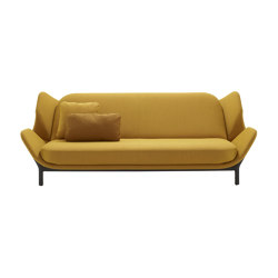 Clam | Bed Settee With 2 Arms | Sofas | Ligne Roset