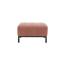 Phileas | Footstool Lacquered Metal Base | Poufs | Ligne Roset