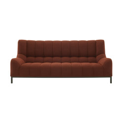 Phileas | Large Settee Lacquered Metal Base | Sofas | Ligne Roset