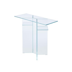 Sonate | Console Table Clear Glass | Console tables | Ligne Roset