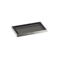 ACCESSORIES | Soap dish | Brushed Steel | Soap holders / dishes | Armani Roca