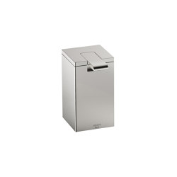 ACCESSORIES | Soap dispenser | Brushed Steel | Soap dispensers | Armani Roca