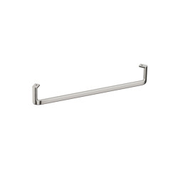 ACCESSORIES | Towel rail for wall-hung or pedestal washbasin | Brushed Steel | Towel rails | Armani Roca