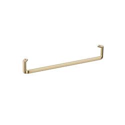 ACCESSORIES | Towel rail for wall-hung or pedestal washbasin  | Greige | Towel rails | Armani Roca