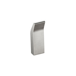 ACCESSORIES | Wall mounted robe hook | Brushed Steel | Towel rails | Armani Roca