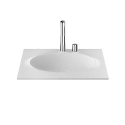 BASINS | Coutertop Washbasin 650 mm | Off White | Wash basins | Armani Roca