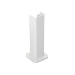 LAVABOS | Pedestal para lavabo mural Glossy White | Muebles sanitarios | Armani Roca
