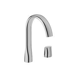 FAUCETS | Single side lever washbasin faucet mixer | Chrome | Wash basin taps | Armani Roca