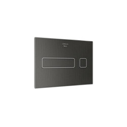 INSTALLATION SYSTEMS   Electronic flush operating plate   Dark Metallic   Flushes   Armani Roca