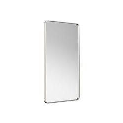 MIRRORS | Metal-framed mirror | Brushed Steel | Bath mirrors | Armani Roca