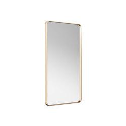 MIRRORS   Metal-framed mirror   Greige   Bath mirrors   Armani Roca